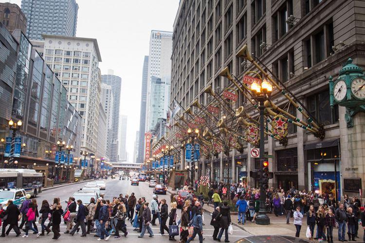 Самые известные и красивые улицы мира - Мичиган авеню в Чикаго (США)