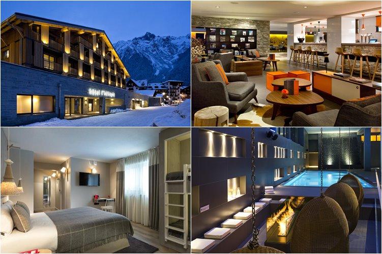 Лучшие отели Шамони: L'Heliopic Sweet and Spa (4 звезды)