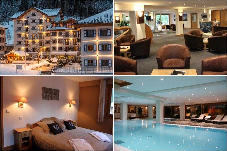Лучшие отели Шамони: Résidence & Spa Vallorcine Mont-Blanc (5 звезд)