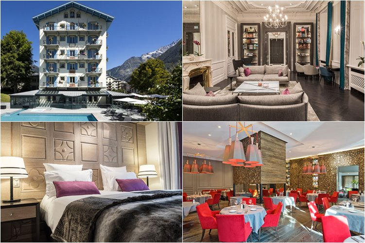 Лучшие отели Шамони: Hôtel Mont-Blanc Chamonix (5 звезд)