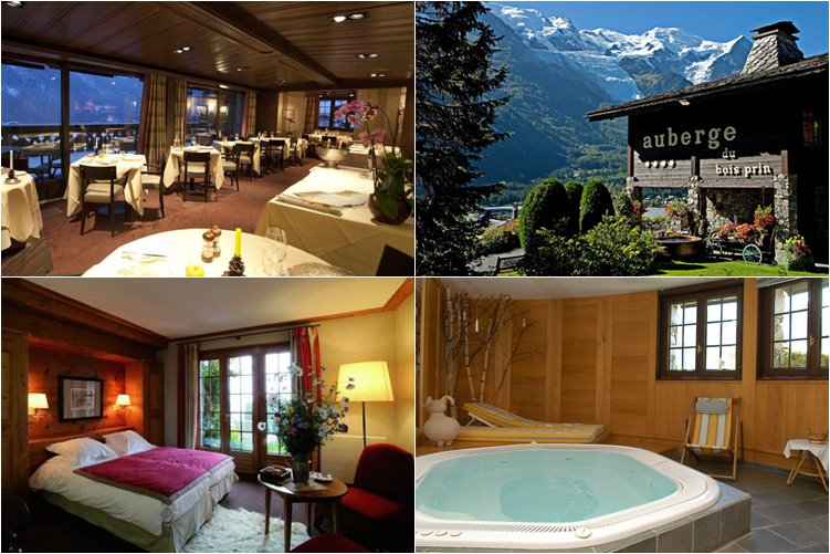 Лучшие отели Шамони: Auberge du Bois Prin (5 звезд)