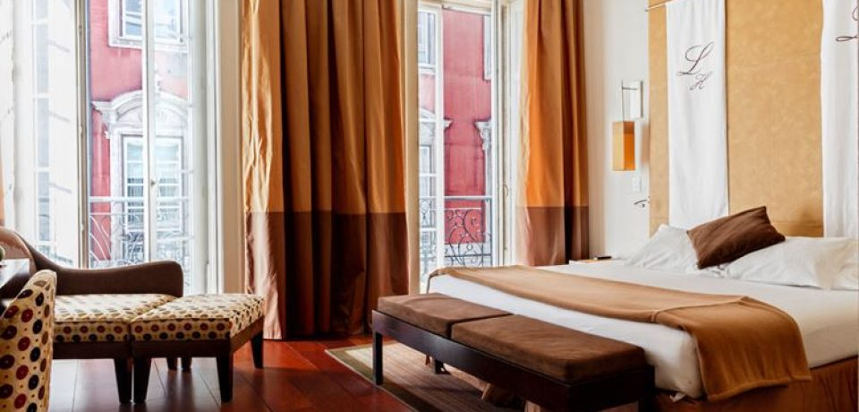 Бутик-отель Heritage Av Liberdade в Лиссабоне (4 звезды)