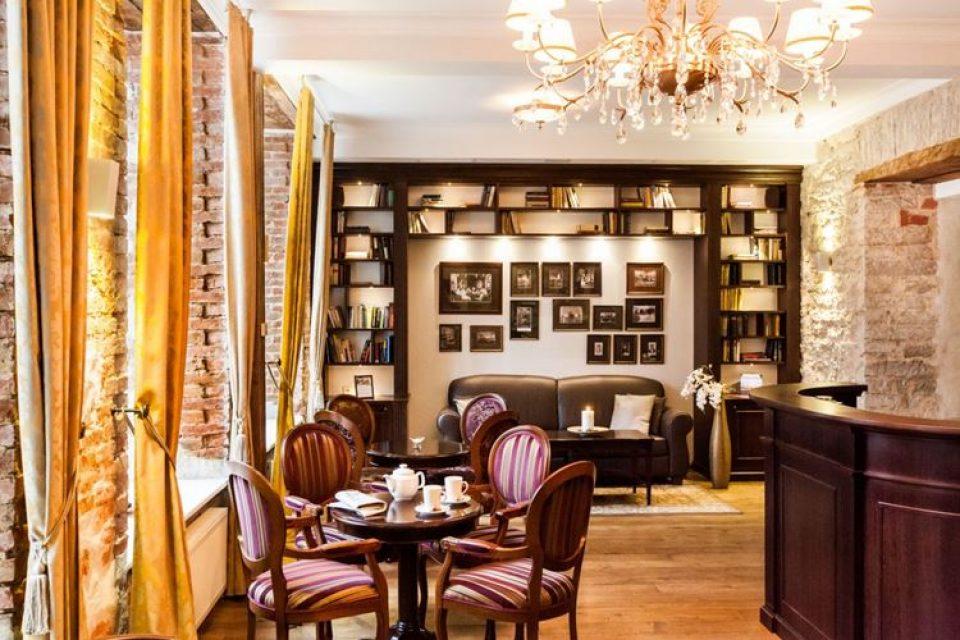 Дизайн-отель The von Stackelberg в Таллине (4 звезды)