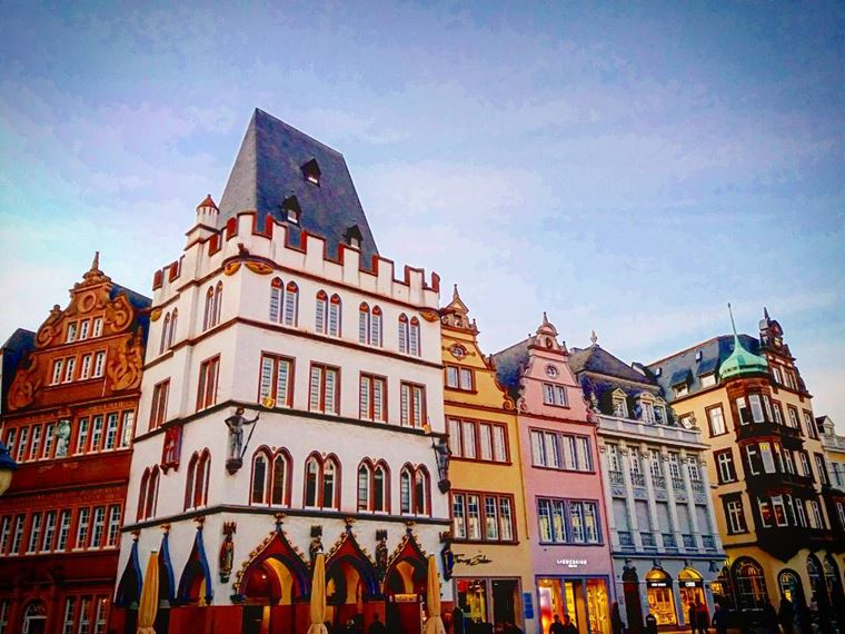 Красивые старинные города Германии: Трир