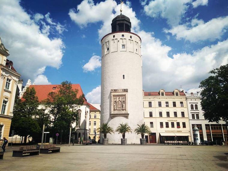 Красивые старинные города Германии: Гёрлиц