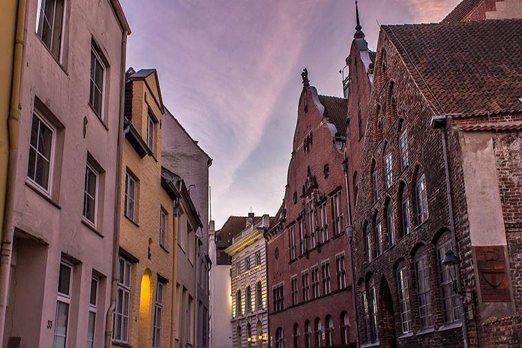 Красивые старинные города Германии: Любек