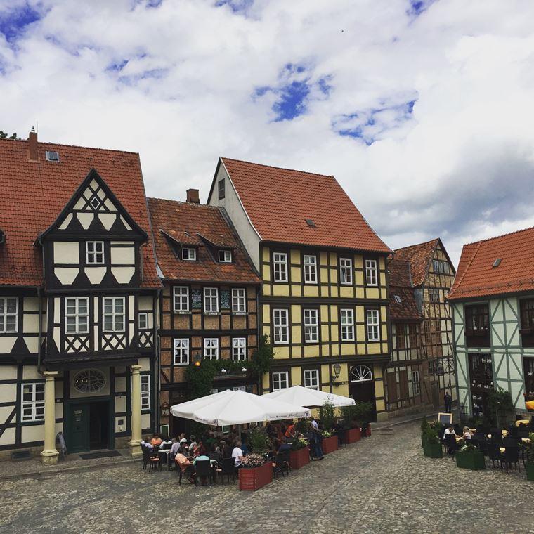 Красивые старинные города Германии: Кведлинбург