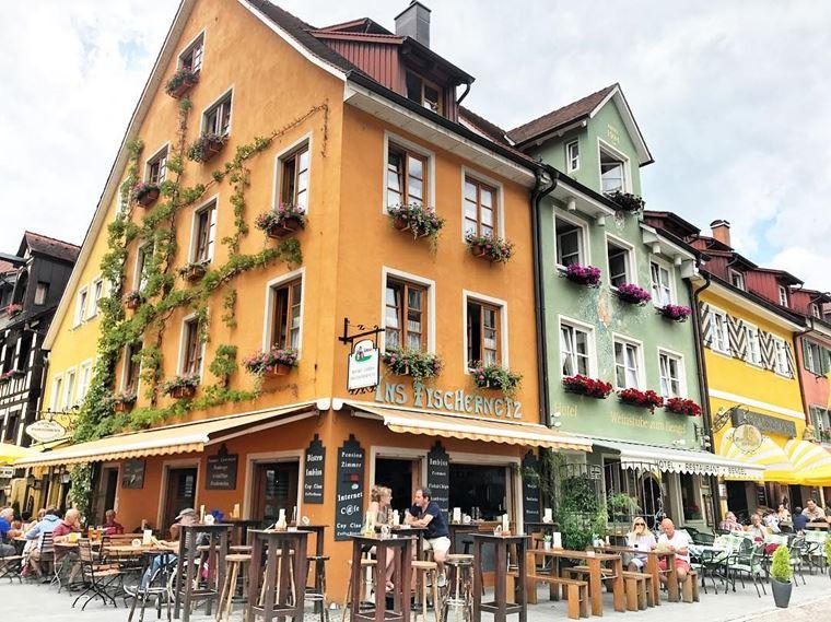 Красивые старинные города Германии: Меерсбург