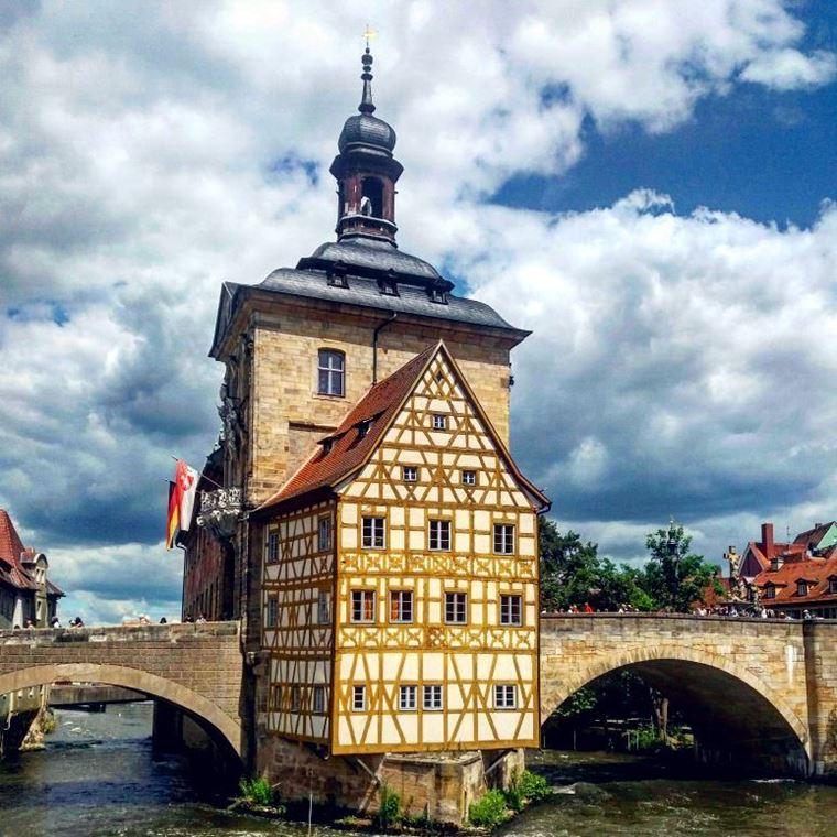 Красивые старинные города Германии: Бамберг