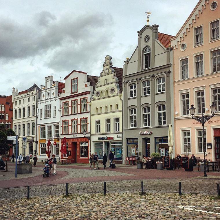 Красивые старинные города Германии: Висмар