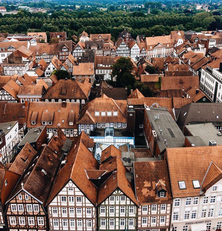 Красивые старинные города Германии: Целле