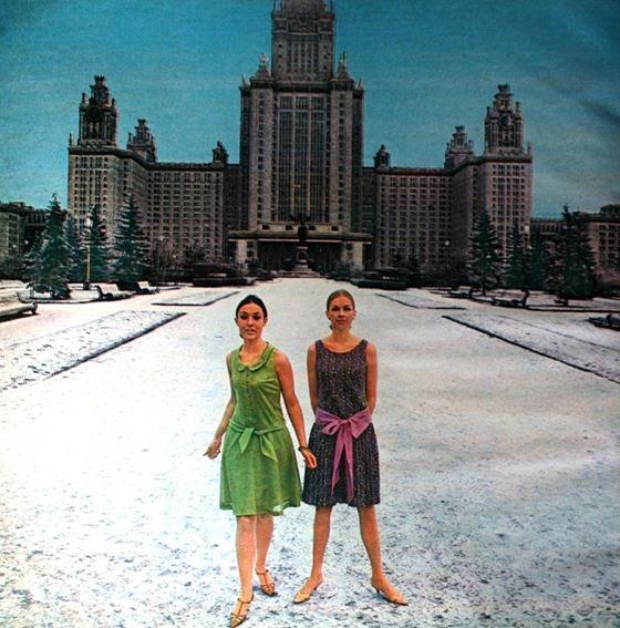 Москва 60-х на фото Пола Хафа для модной коллекции Dutch в журнале Avenue - фото 4