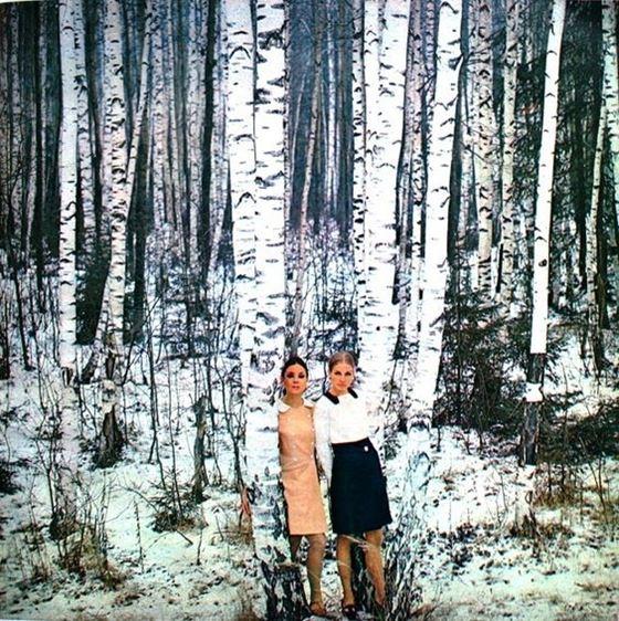 Москва 60-х на фото Пола Хафа для модной коллекции Dutch в журнале Avenue - фото 5