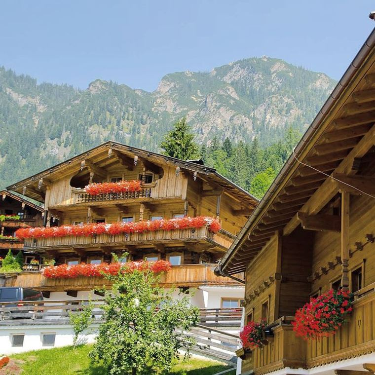 Красивые деревни и маленькие города Австрии: Альпбах