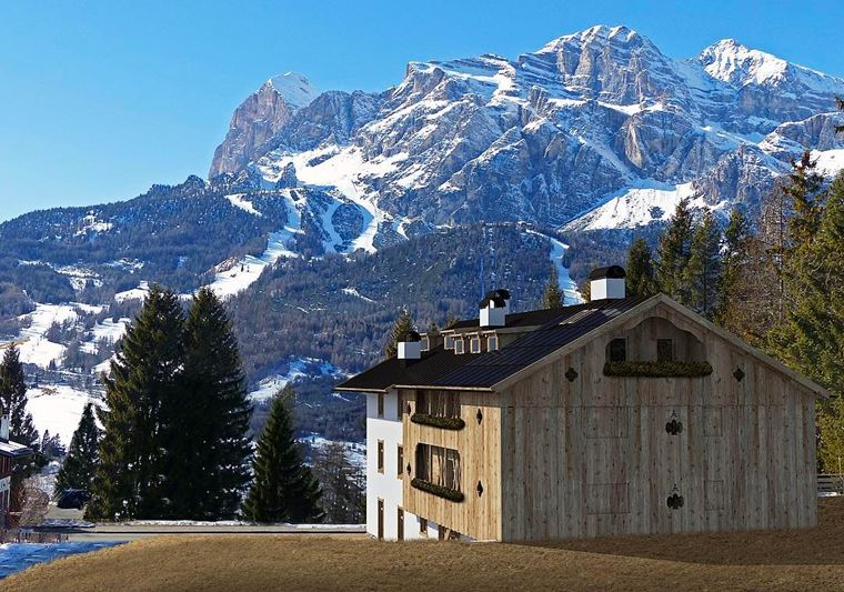 Лучшие горнолыжные курорты Италии: Кортина д'Ампеццо