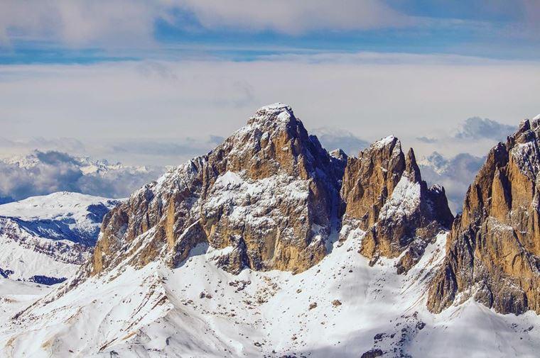 Лучшие горнолыжные курорты Италии: Валь-ди-Фасса