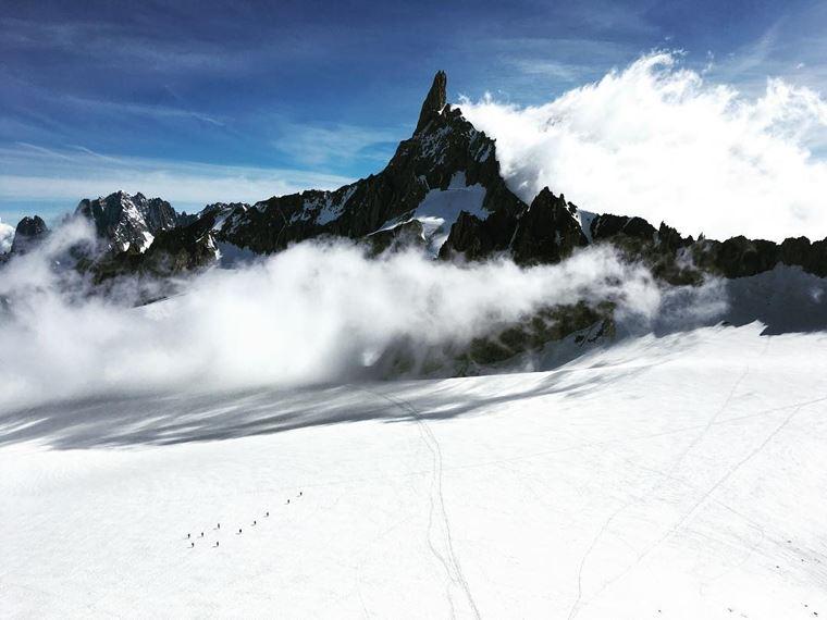 Курмайор  - один из лучших горнолыжных курортов Италии (фото: @thefjuzin)