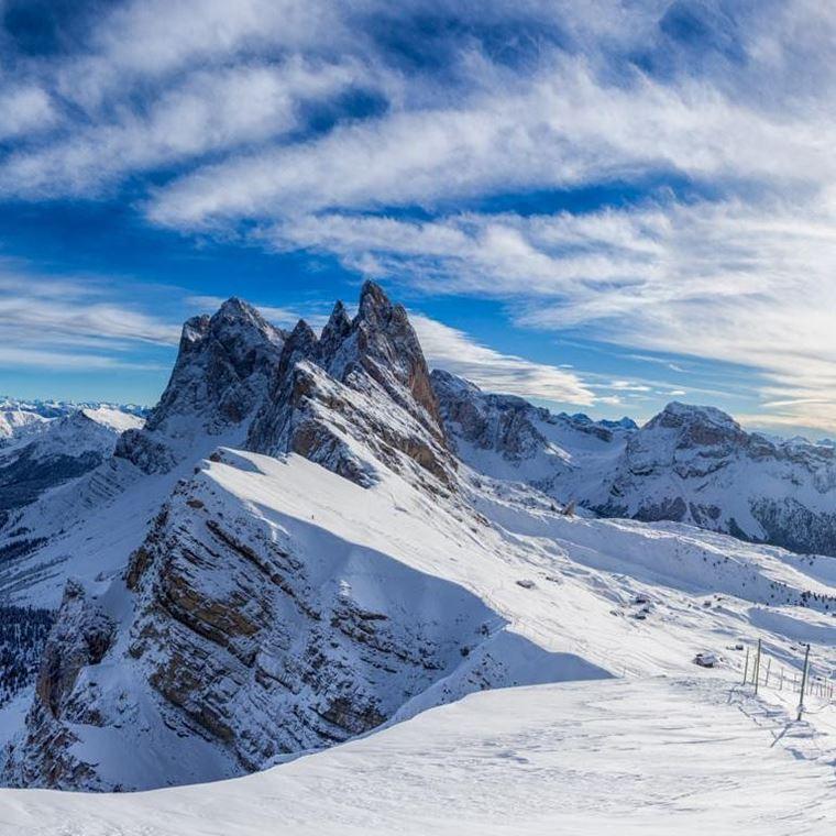 Лучшие горнолыжные курорты Италии: Сельва-ди-Валь-Гардена
