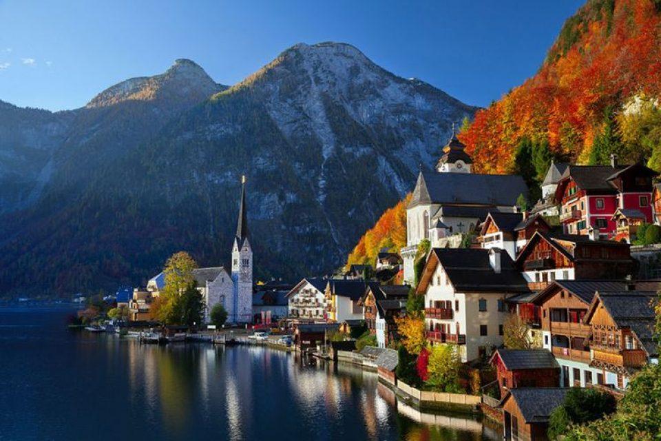 Красивые деревни и маленькие города Австрии