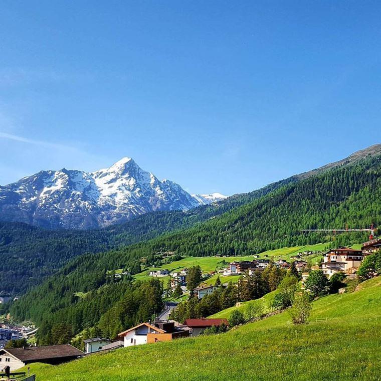Красивые деревни и маленькие города Австрии: Зёльден