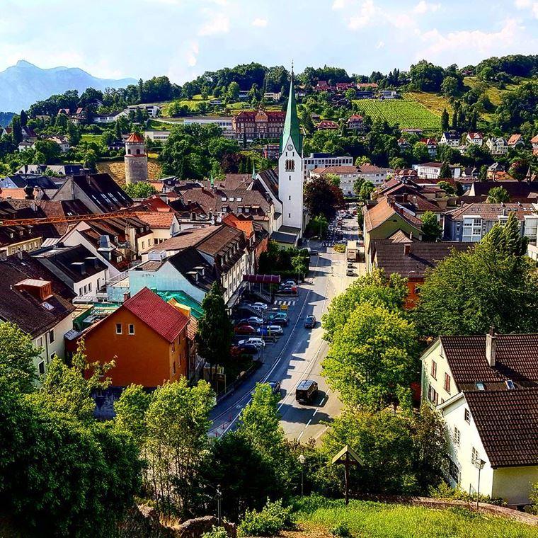 Красивые деревни и маленькие города Австрии: Фельдкирх