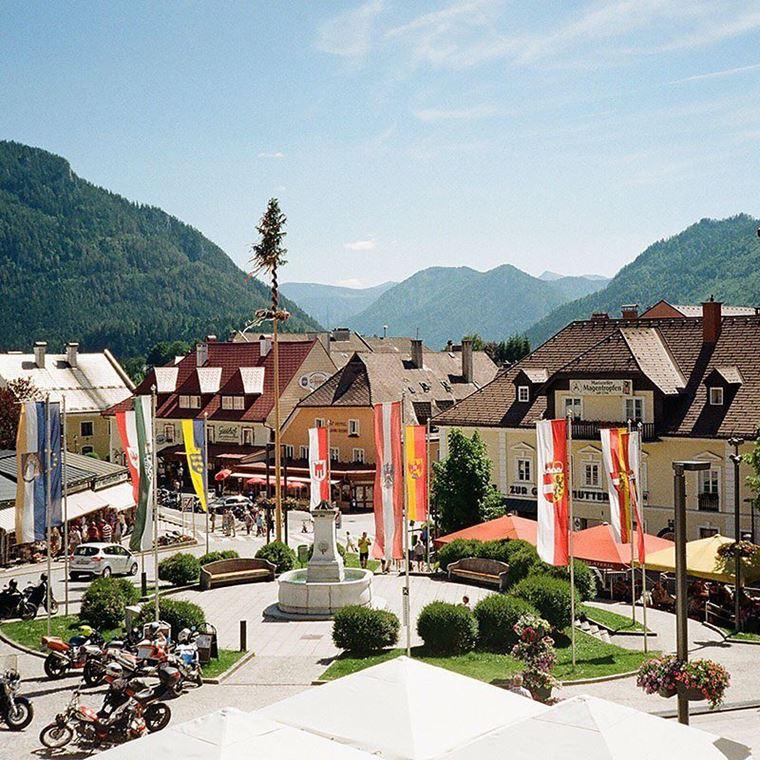 Красивые деревни и маленькие города Австрии: Мариацелль