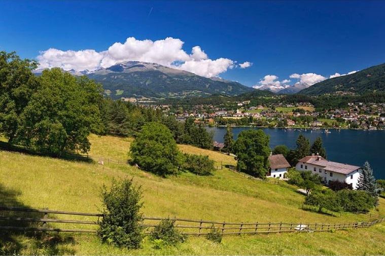 Красивые деревни и маленькие города Австрии: Мильштатт-ам-Зе