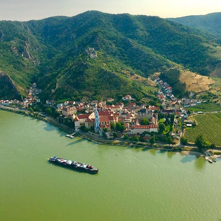 Красивые деревни и маленькие города Австрии: Дюрнштайн
