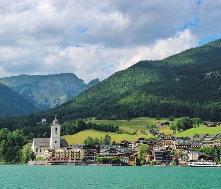 Красивые деревни и маленькие города Австрии: Санкт-Вольфганг-им-Зальцкаммергут
