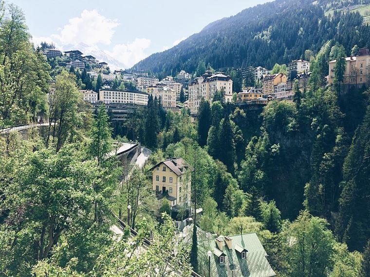 Красивые деревни и маленькие города Австрии: Бадгастайн