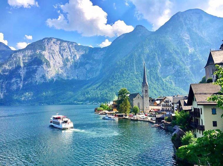 Красивые деревни и маленькие города Австрии: Гальштат
