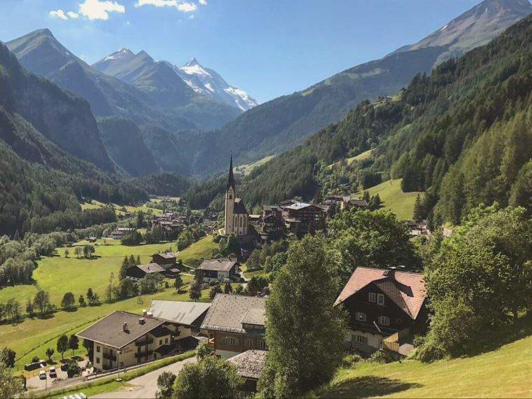 Красивые деревни и маленькие города Австрии: Хайлигенблут