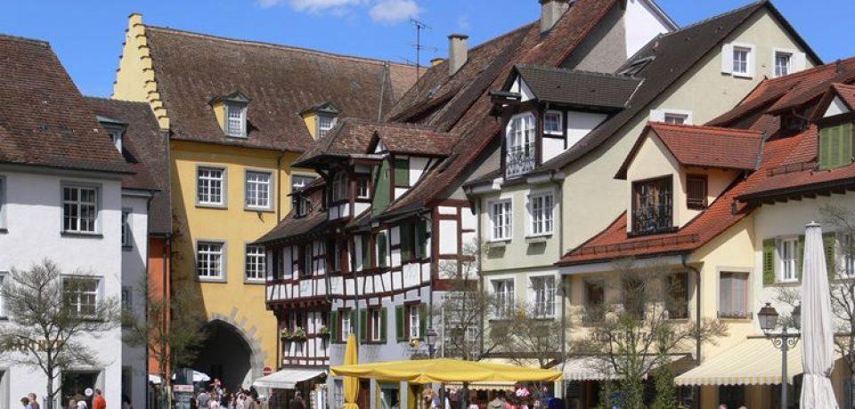 Красивые деревни и маленькие города Германии