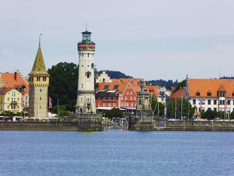 Красивые деревни и маленькие города Германии: Линдау