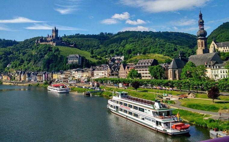 Красивые деревни и маленькие города Германии: Кохем