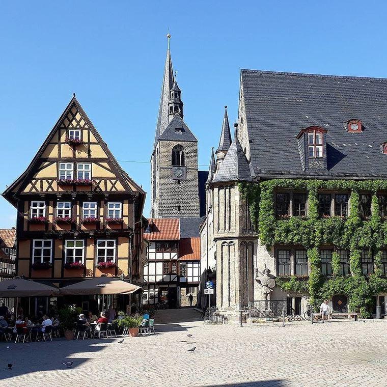 Красивые деревни и маленькие города Германии: Кведлинбург
