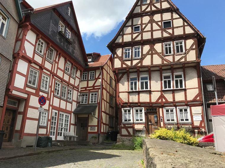 Красивые деревни и маленькие города Германии: Альсфельд