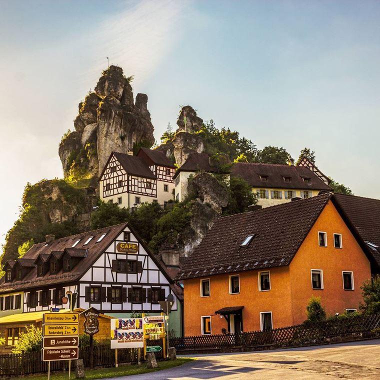 Красивые деревни и маленькие города Германии: Тюхерсфельд