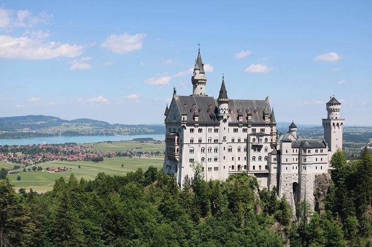 Красивые деревни и маленькие города Германии: Фюссен