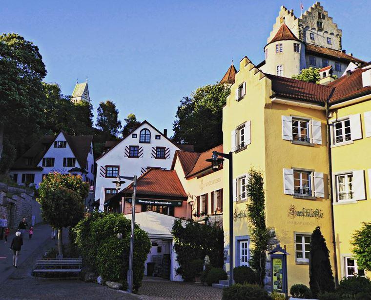 Красивые деревни и маленькие города Германии: Мерсбург
