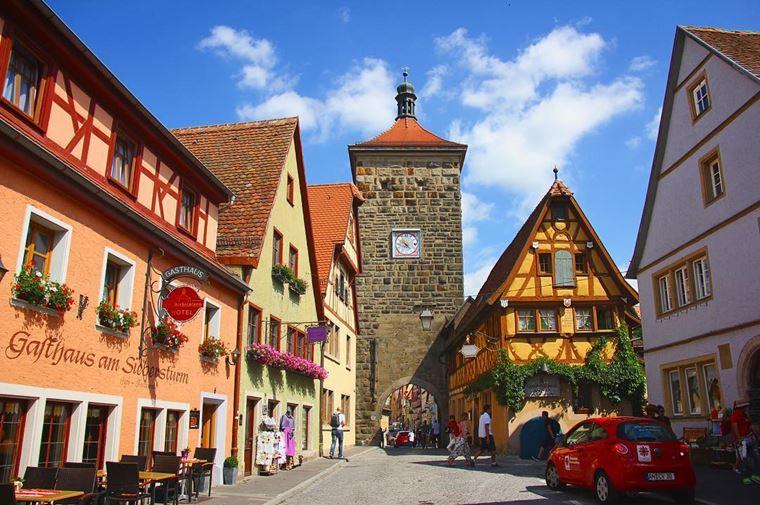 Красивые деревни и маленькие города Германии: Ротенбург-об-дер-Таубер