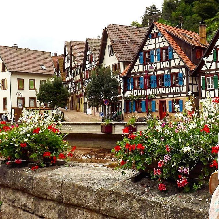 Красивые деревни и маленькие города Германии: Шильтах