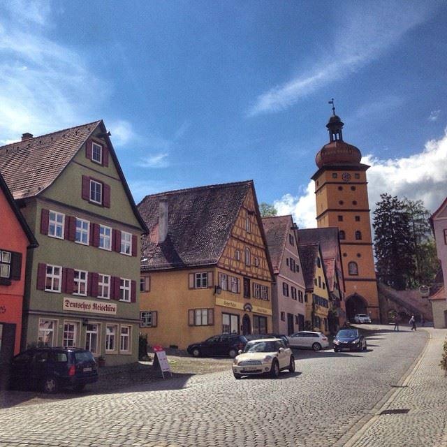 Красивые деревни и маленькие города Германии: Динкельсбюль