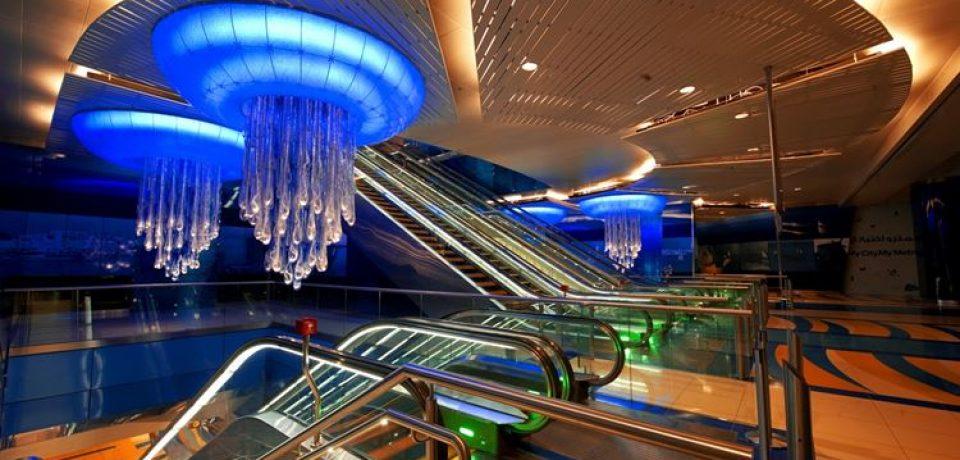 Красивые, яркие и необычные станции метро мира