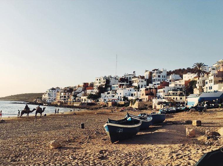 Топ-12 лучших пляжей Марокко: для отдыха и серфинга - Пляж Тагазут, Агадир