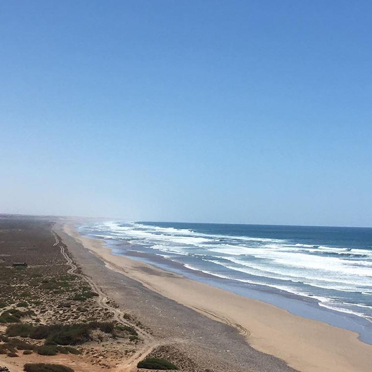 Топ-12 лучших пляжей Марокко: для отдыха и серфинга - Белый пляж, Гуэльмин/Тан-Тан