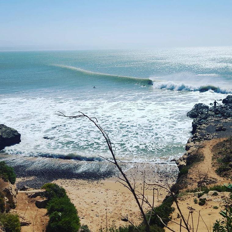 Топ-12 лучших пляжей Марокко: для отдыха и серфинга - Пляж Сиди Кауки, Эс-Сувейра