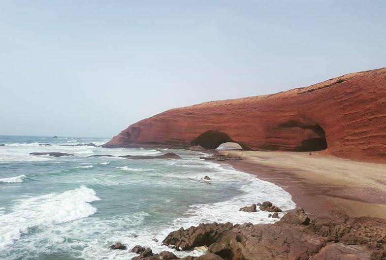 Топ-12 лучших пляжей Марокко: для отдыха и серфинга - Пляж Легзира, Сиди Ифни