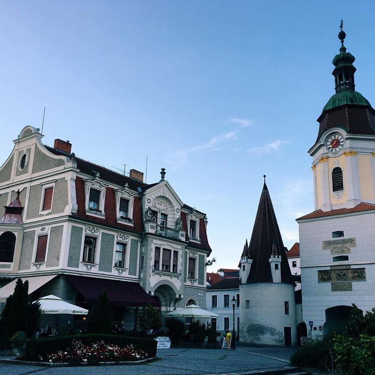 Красивые деревни и маленькие города Австрии: Кремс-ан-дер-Донау