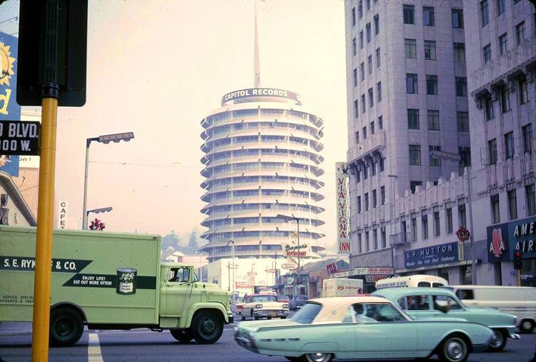 Цветные фото старого Лос-Анджелеса 40-70-х годов - ретро-фото10